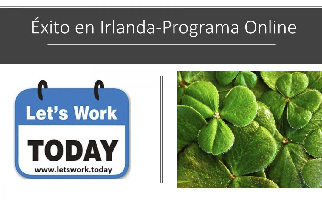 ¿Estás buscando trabajo en Irlanda?